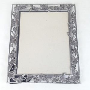 Other - ⬇ Metallic Rose Detailed Picture Frame 10.5 X 12.5